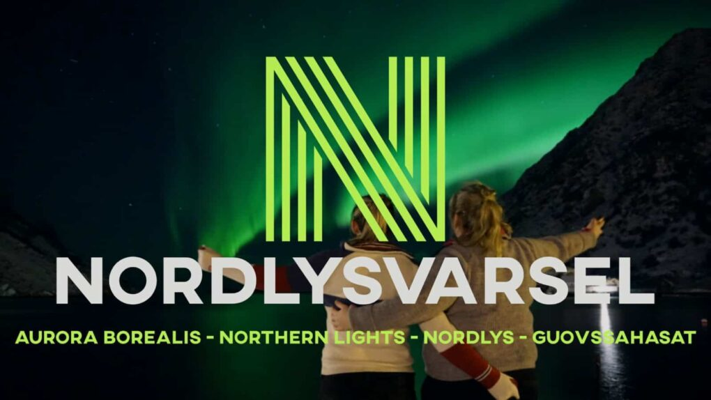Nordlysvarsel / Aurora forecast hidden logo